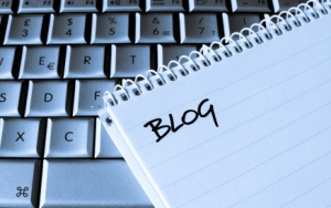Blog notes on Laptop